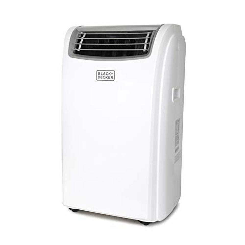 BLACK+DECKER BPACT14HWT Portable Air Conditioner with Heat, 14,000 BTU w, White