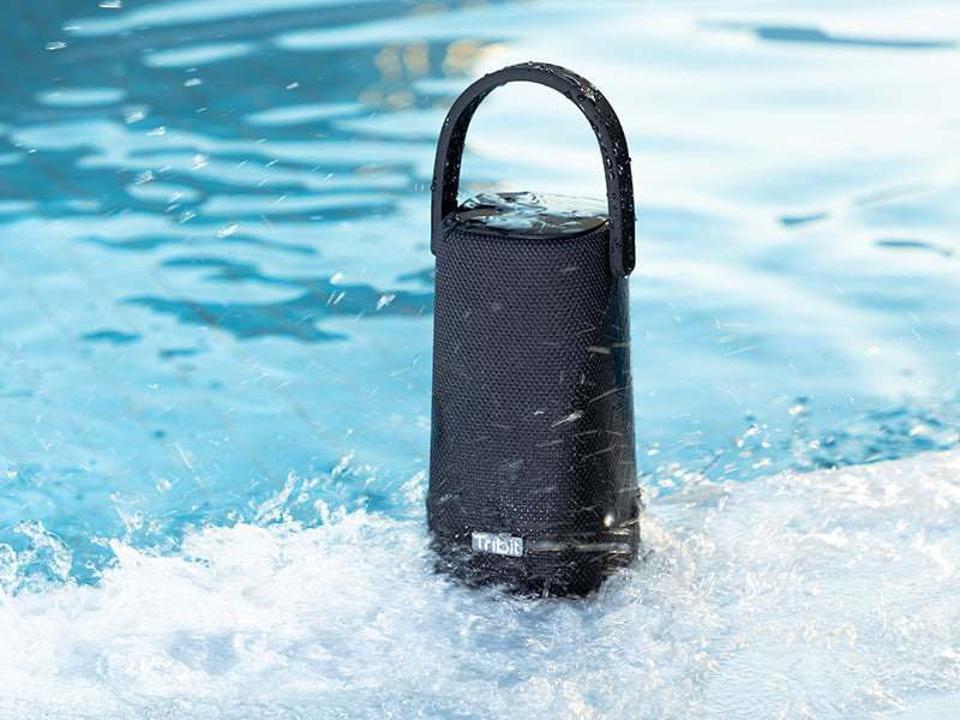Tribit StormBox Pro by a pool