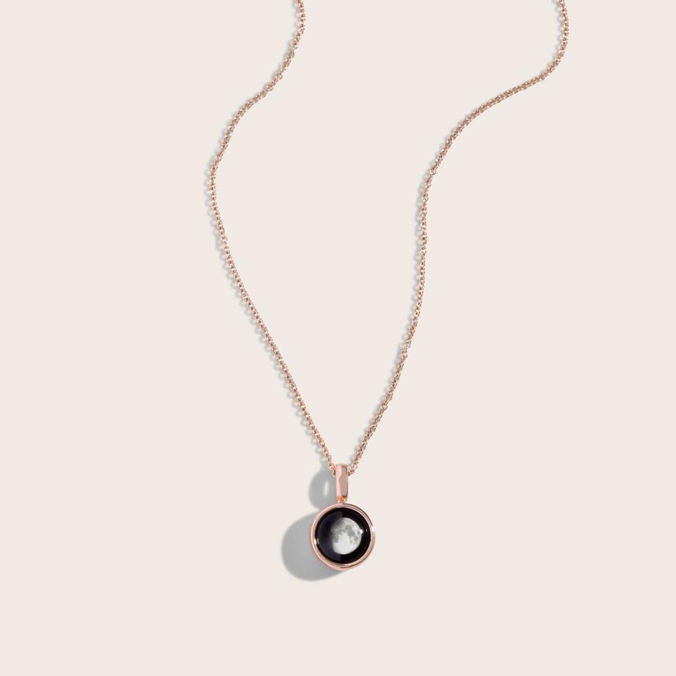The Best Gifts For Mother's Dat 2021: Sky Light Rose Gold Necklace