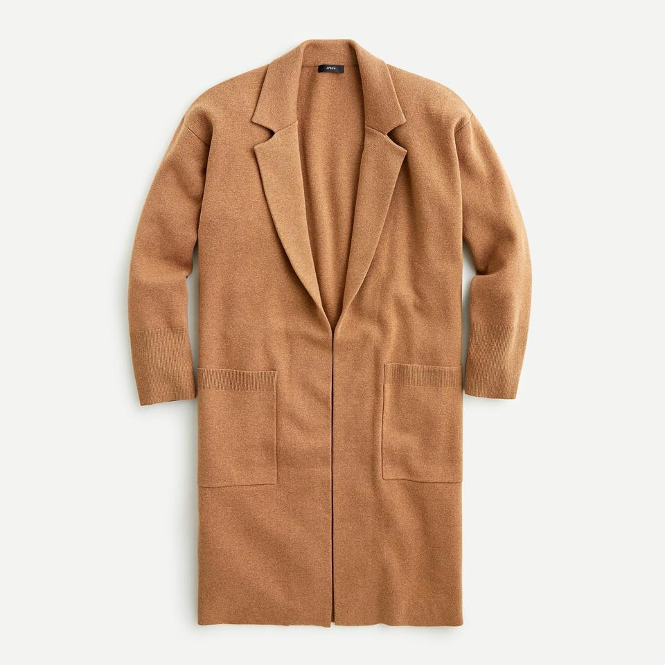 The Best Mother's Day Gifts For 2021: Ella open-front long sweater-blazer