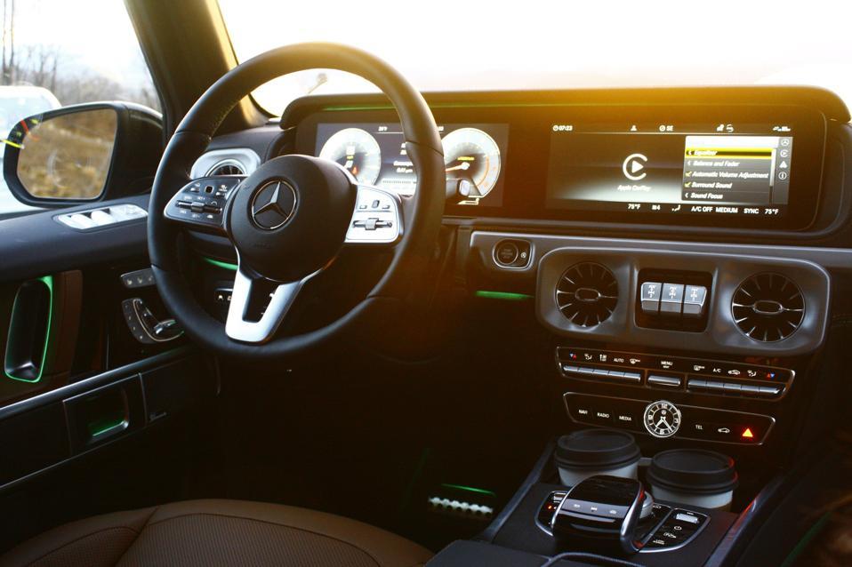 2021 Mercedes-Benz G550 Interior