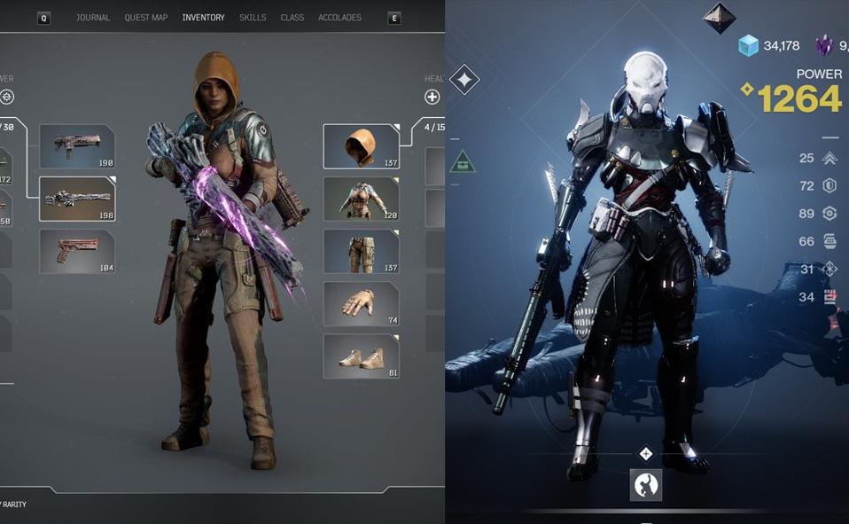 Outriders/Destiny 2
