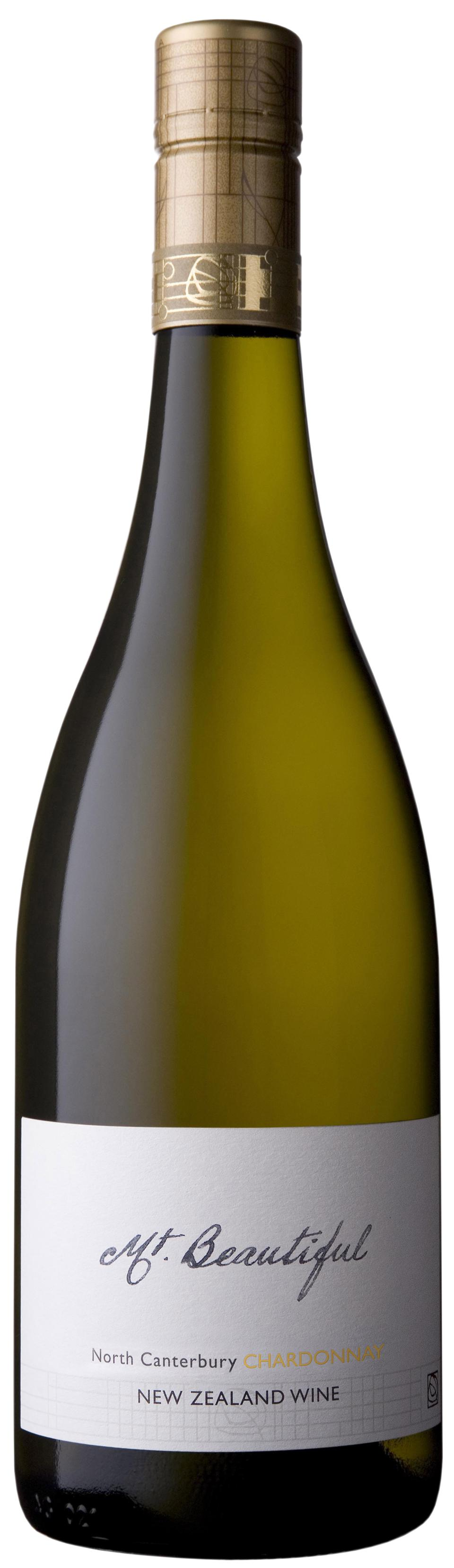 Bottle of Mt. Beautiful New Zealand Chardonnay