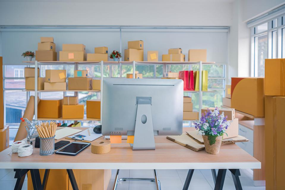 Work at home for online shopping