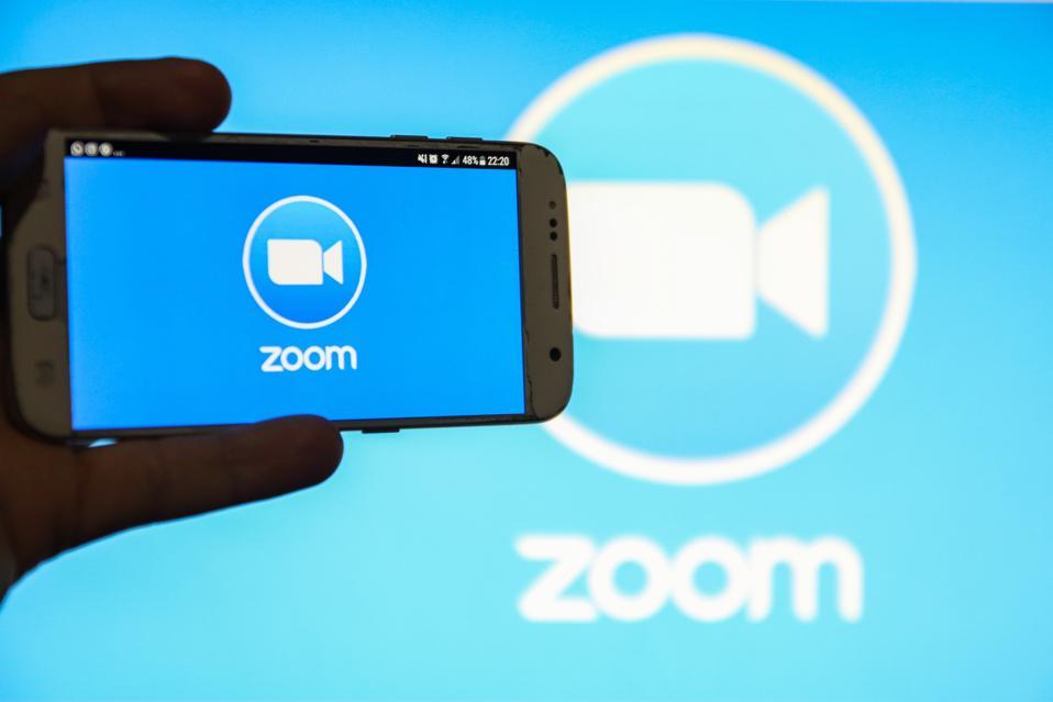 ZOOM Video Communications Logo Illustration