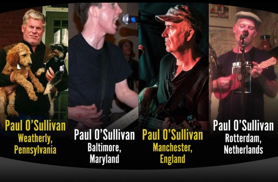 The Paul O'Sullivan Band became one of the  feel-good stories of the pandemic.