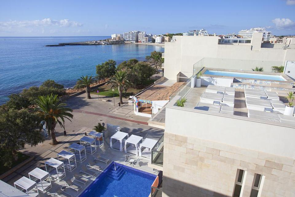 Aerial view of MiM Mallorca