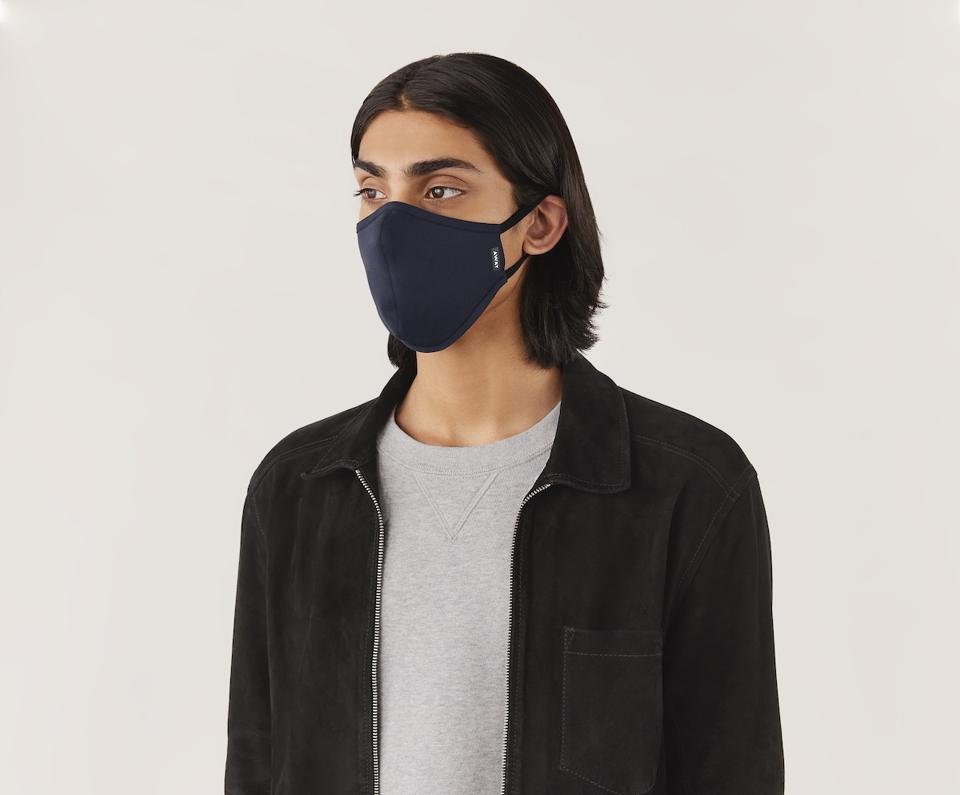 Away's Face Mask is part of their new Travel Accessories collection.