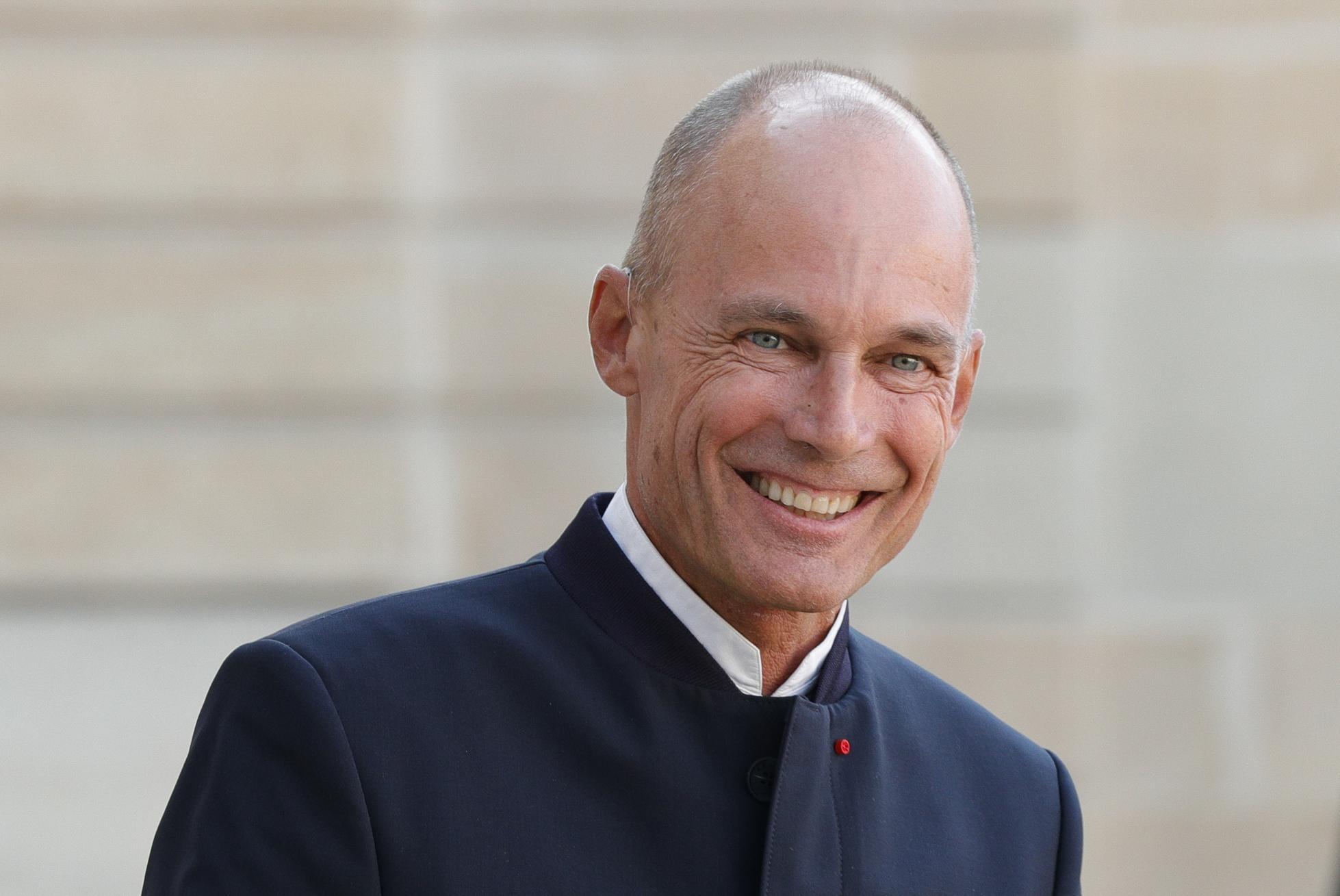 Swiss aeronaut, and chair of the Solar Impulse Foundation Bertrand Piccard.