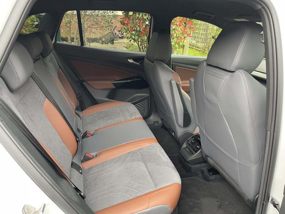 VW ID.4 rear seats