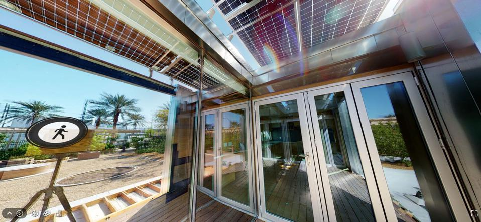 The solar-powered homes designed and built by students may not be appearing on the National Mall, but they're still available to tour virtually and the innovations remain impressive.
