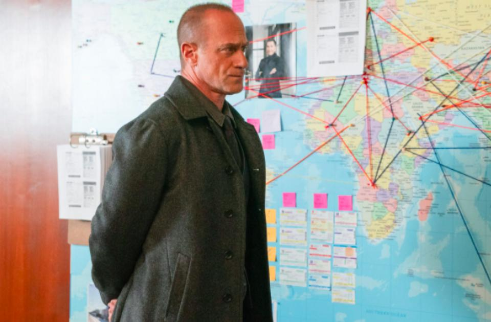 Chris Meloni stars in ″Law & Order: Organized Crime″ on NBC