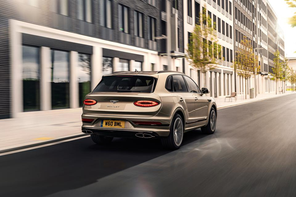 A new Bentley Bentayga Hybrid, which doesn't come with the residence.