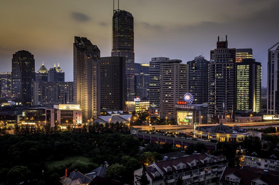 Hongqiao evening