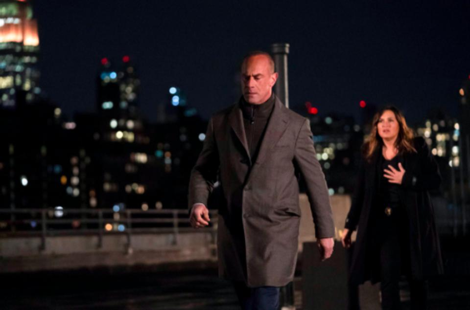 Chris Meloni and Mariska Hargitay work together on ″Law & Order: Organized Crime.″