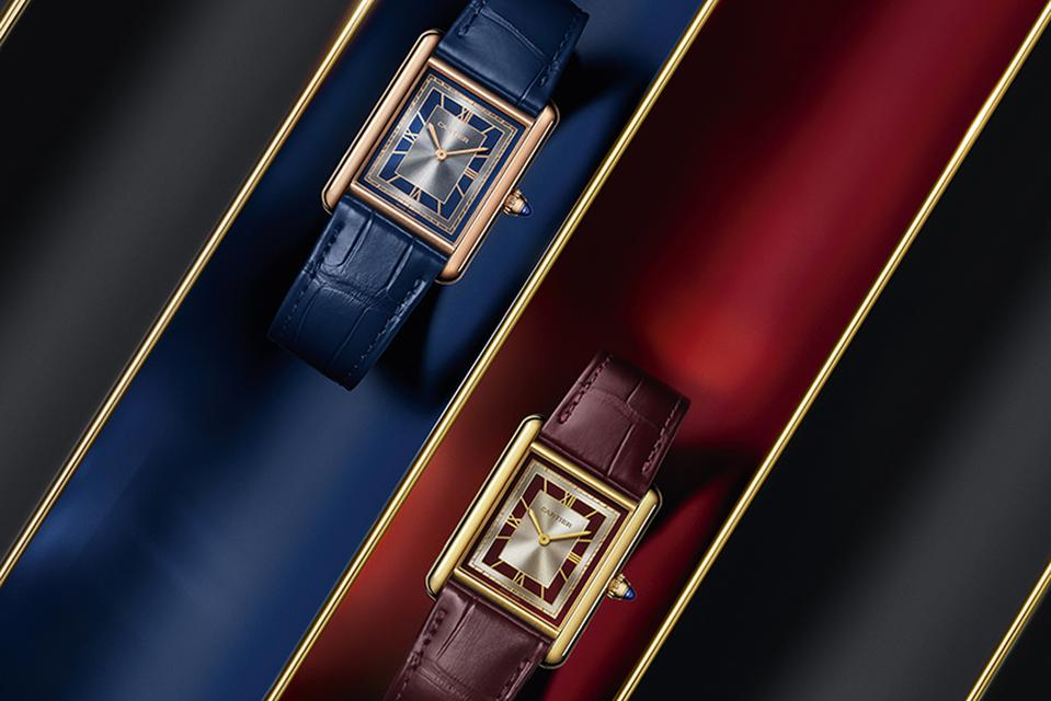 New colors in the Cartier Tank Must.