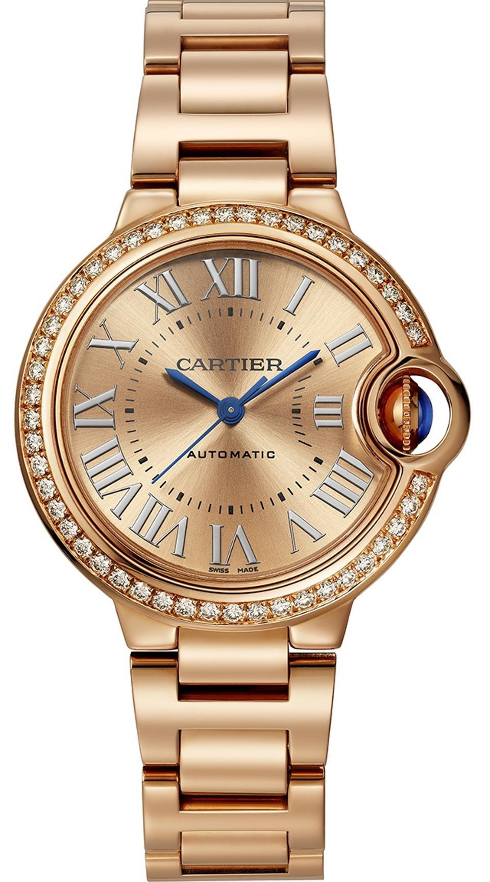 Cartier Ballon Bleu in gold.