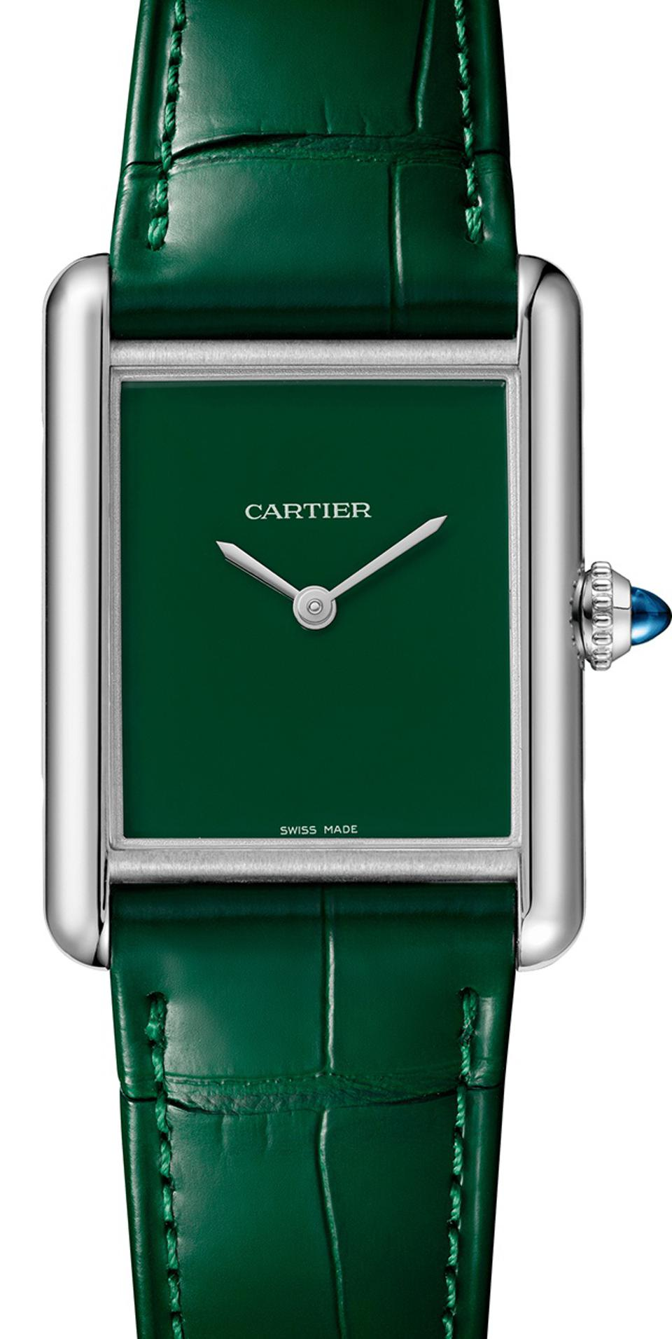 The Cartier Tank Must relaunched.