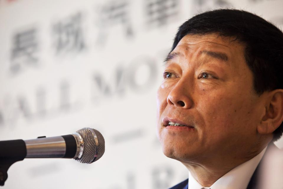 Great Wall Motor Co. Chairman Wei Jianjun Presents Annual Results
