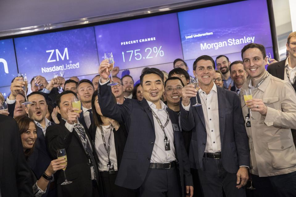 Zoom Video Communications Inc. Debuts Initial Public Offering At Nasdaq MarketSite