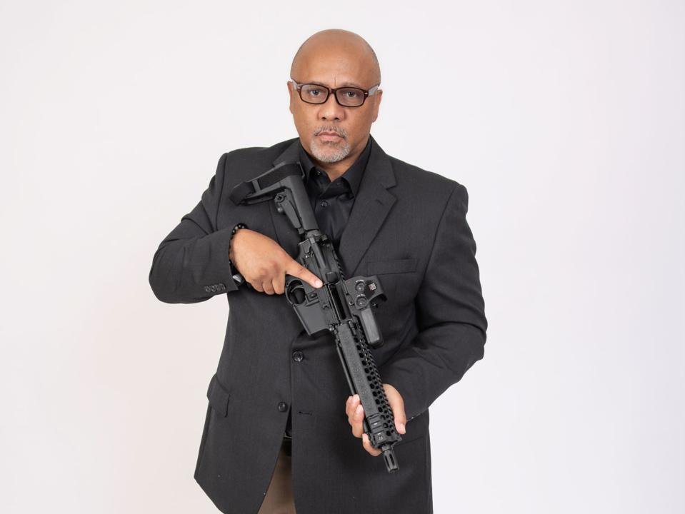 Philip Smith, founder and president of the National African American Gun Association, believes that Black Americans should own guns for self-defense, like the AR-15.