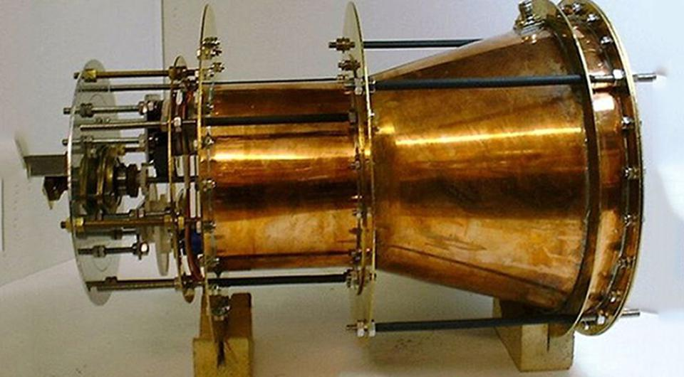 EmDrive propellentless drive