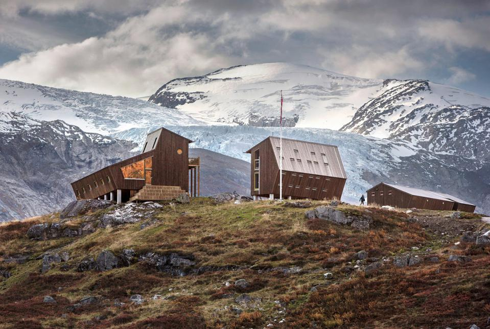 Tungestølen mountain lodge in Norway.