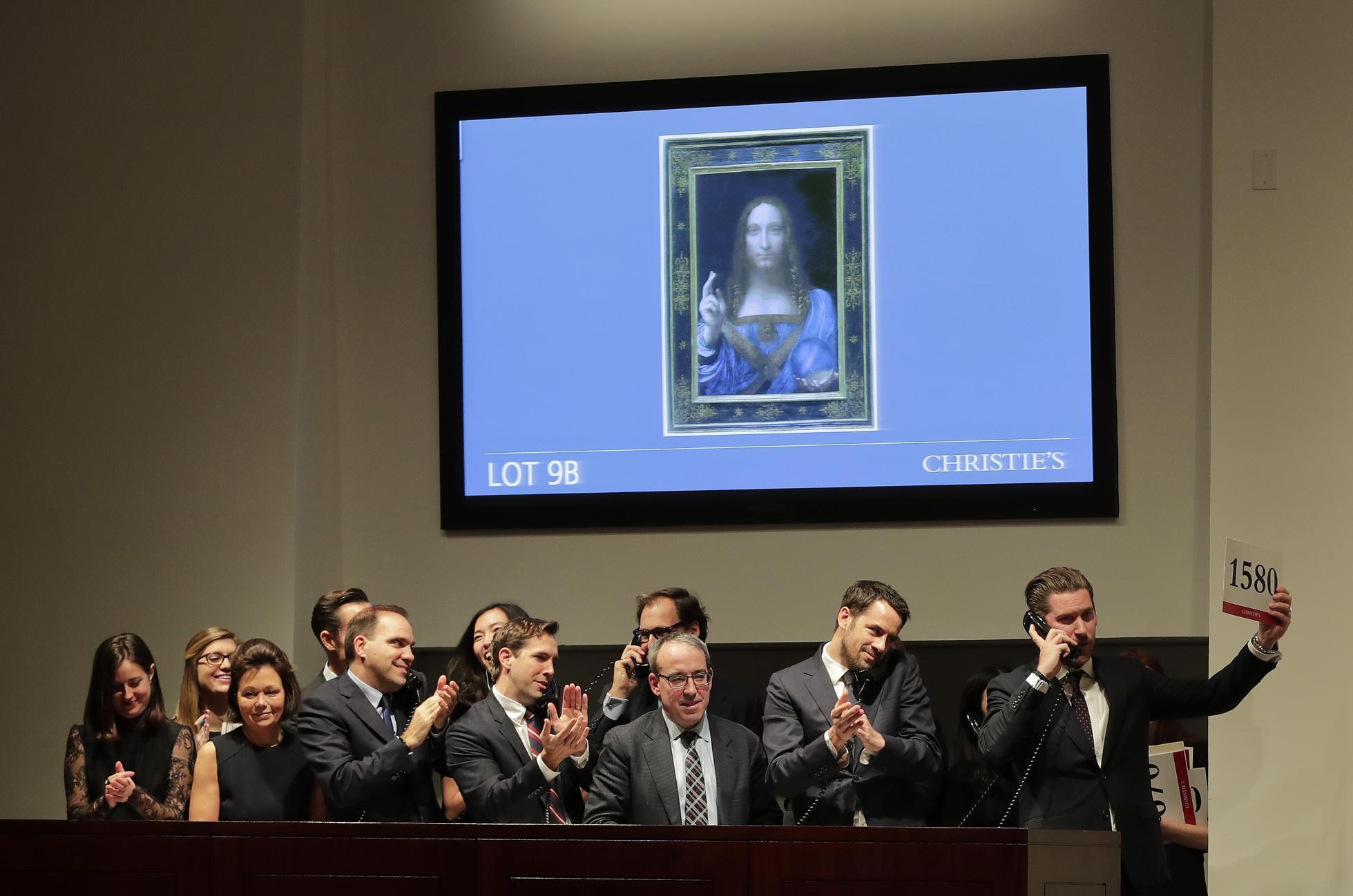 Salvator Mundi Mohammed bin Salman Saudi prince Louvre