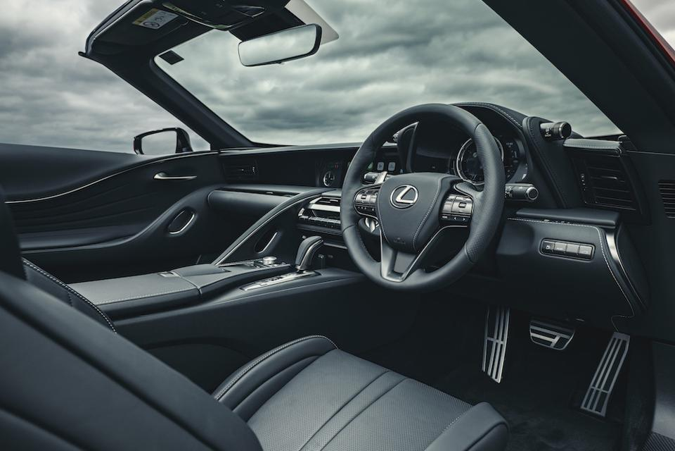 2021 Lexus LC500 Convertible Sportscar