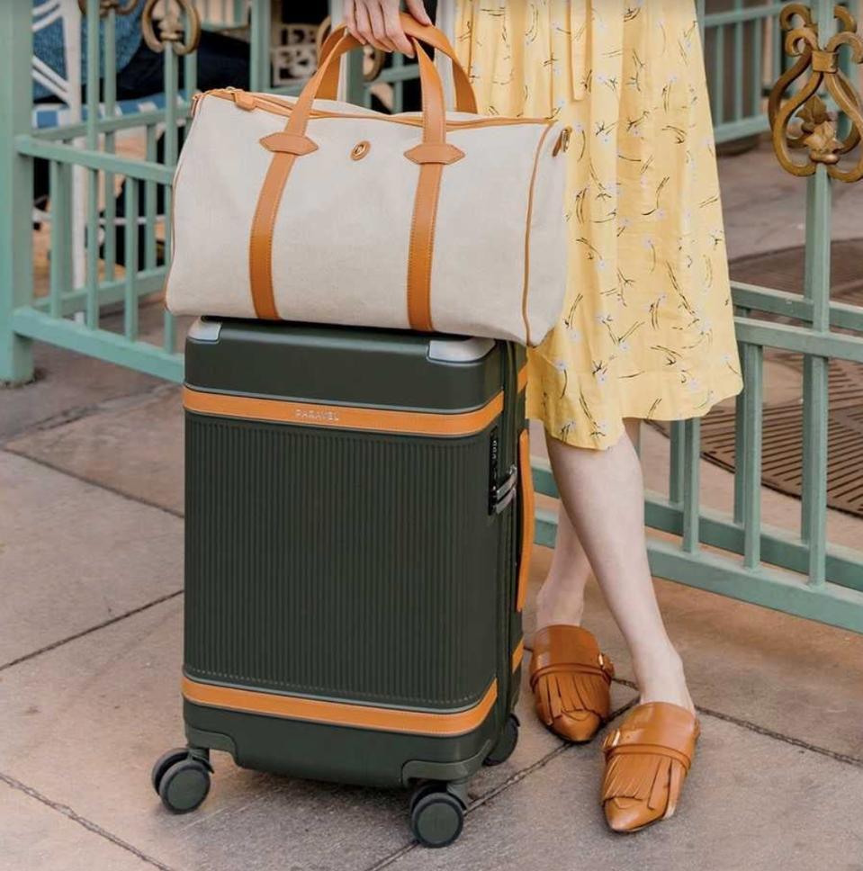 Paravel sustainable luggage