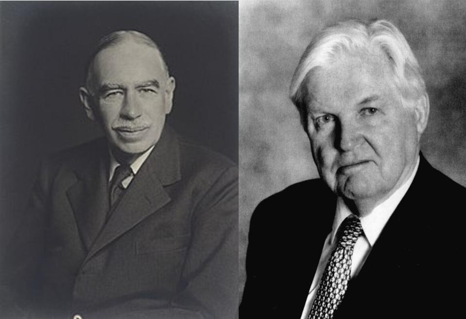 John Maynard Keynes / Robert Mundell