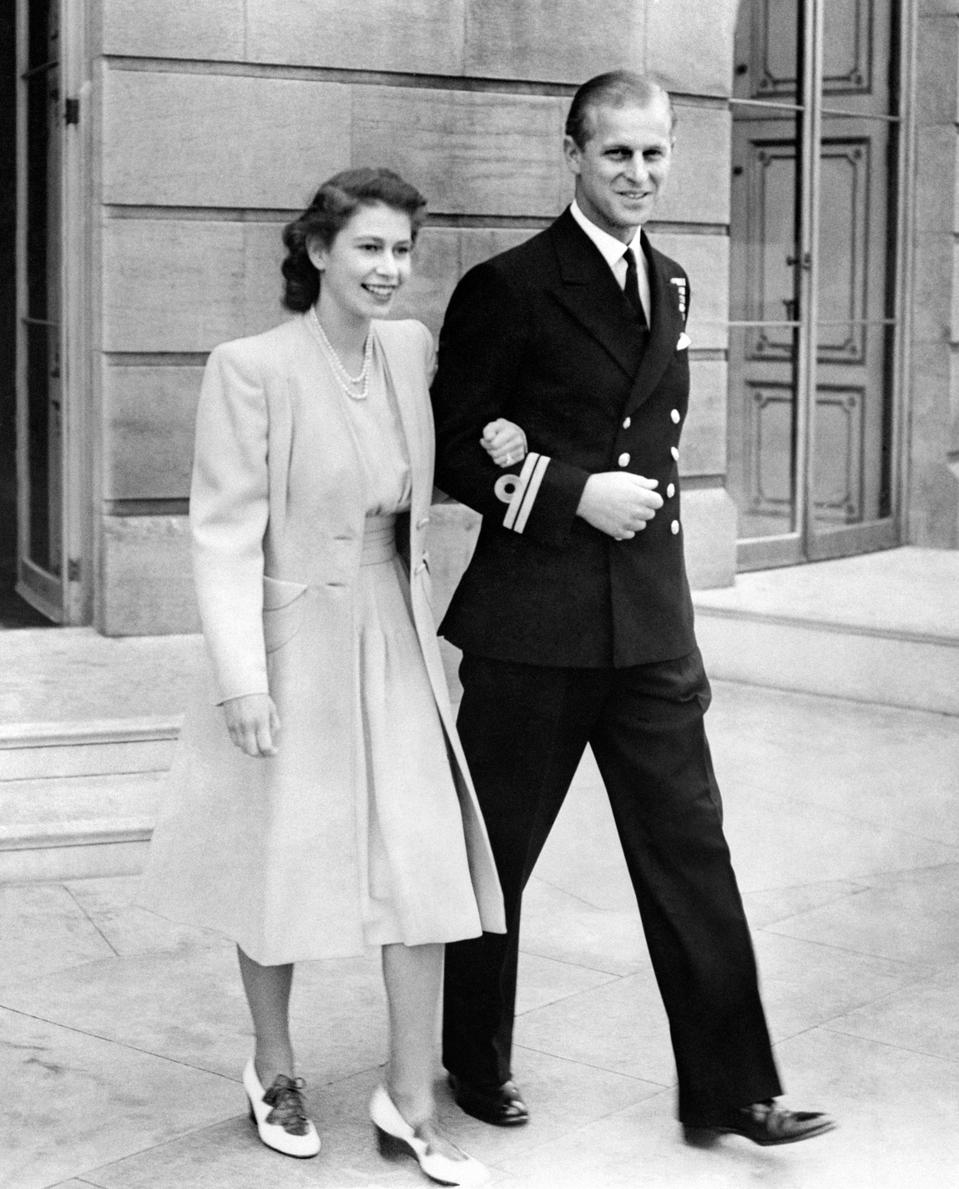 Engagement of Princess Elizabeth and Lieutenant Philip Mountbatten