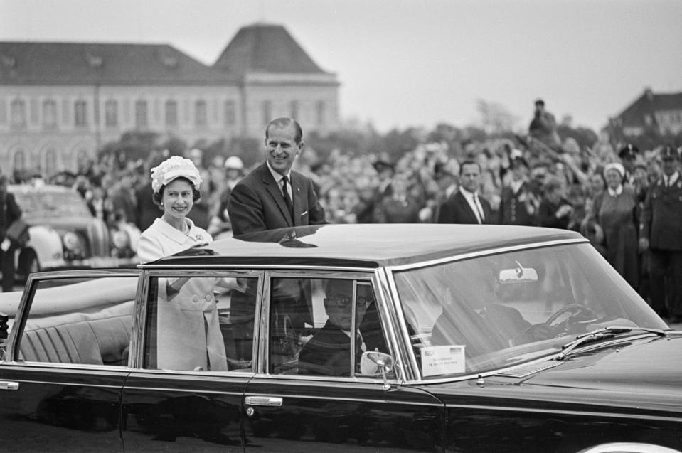 Queen Elizabeth, Prince Philip visiting Germany in 1965