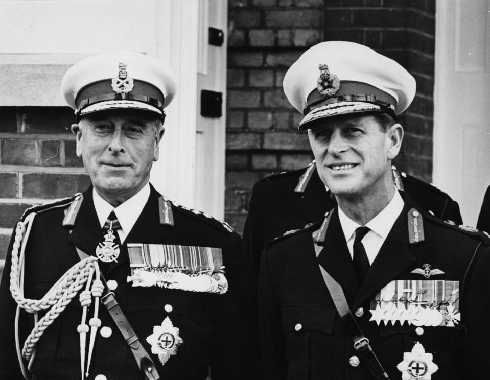 Earl Mountbatten And Duke Of Edinburgh in 1965