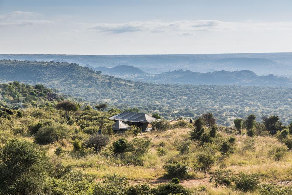 Siruai Mobile Camp in Laikipia, Kenya.