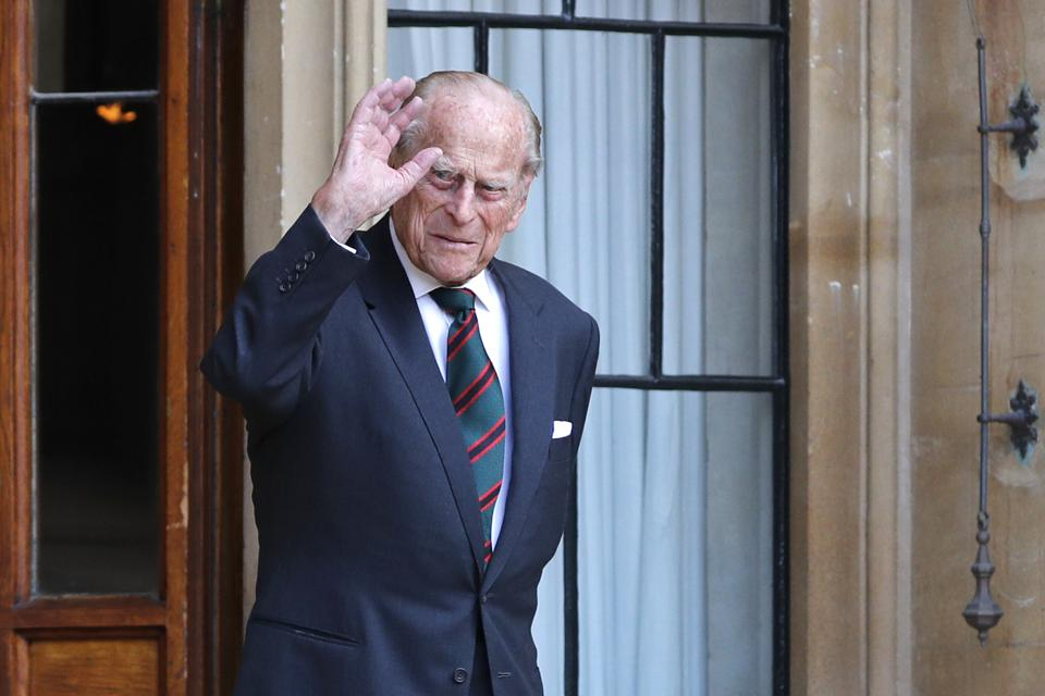 Prince Philip during his last year