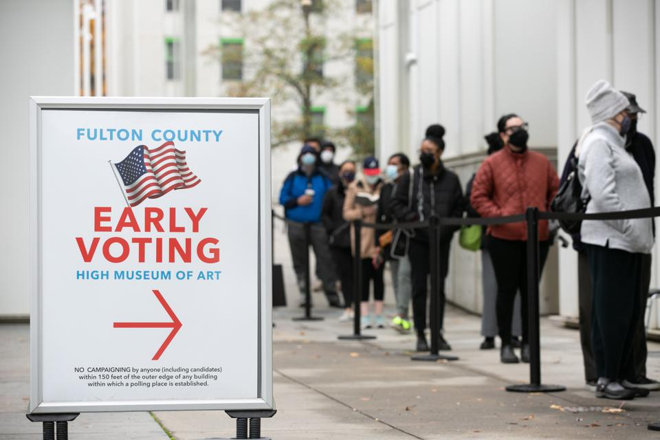 Early Voting Starts In Georgia Ahead Of Senate Runoff Elections
