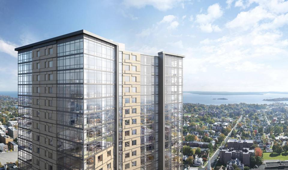 The 280 unit building at 360 Huguenot in New Rochelle reached 90% leasing rate.