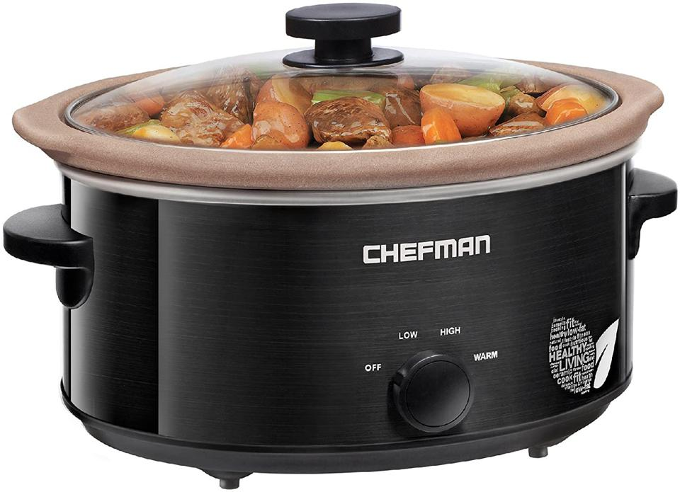 Chefman XL 5-Quart Slow Cooker