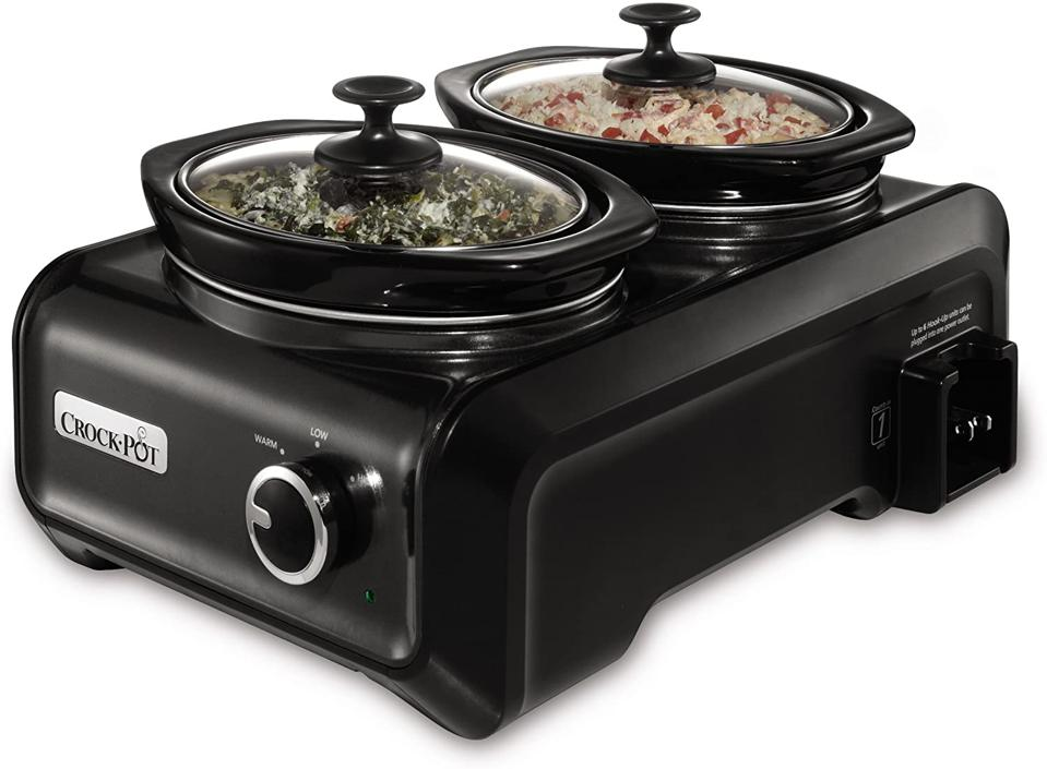 Crock-Pot SCCPMD1-CH Double Oval Slow Cooker