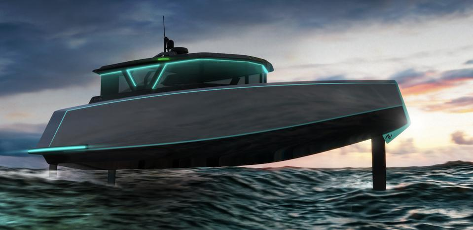 The all-electric Navier 27 is one the many projects that's benefiting from Yachting Ventures new yachting-specific start-up accelerator.