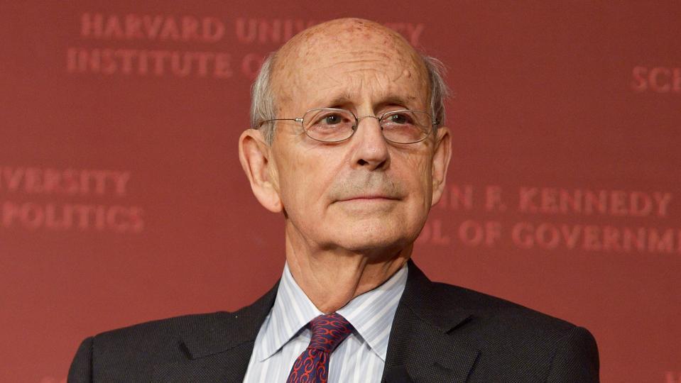 Justice Stephen Breyer At Harvard