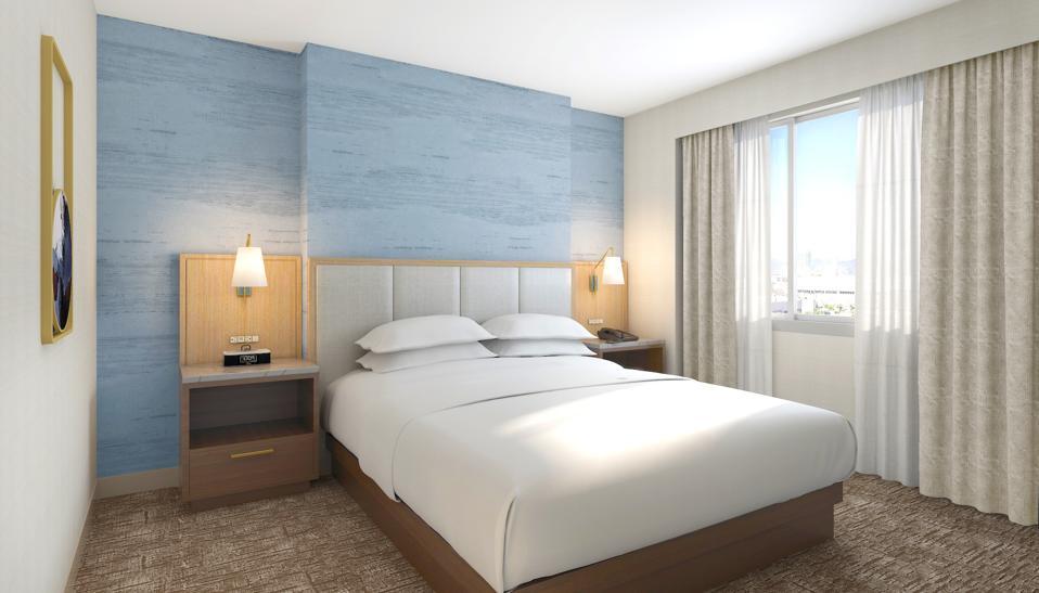 Hilton Santa Monica room