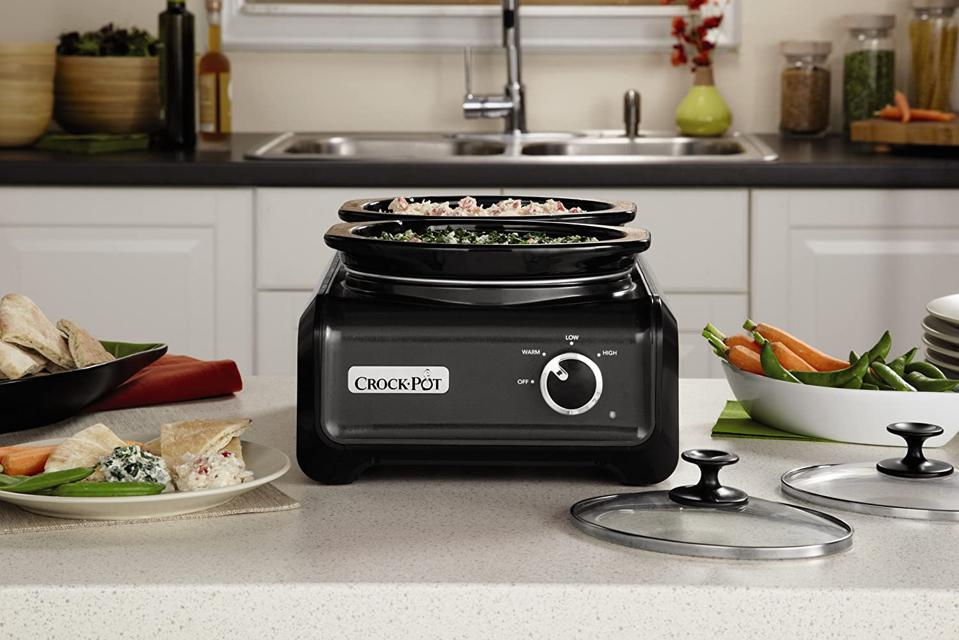 Crockpot SCCPMD1-CH Double Oval Slow Cooker