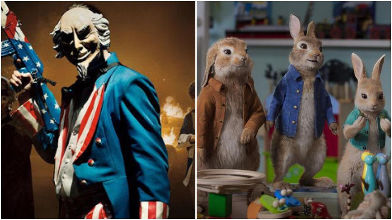 'The Purge: Election Year' and 'Peter Rabbit: The Runaway'