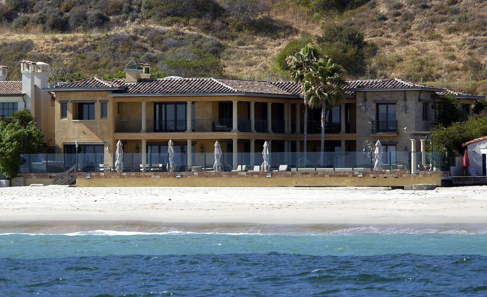 Computer tycoon Larry Ellison's Malibu home