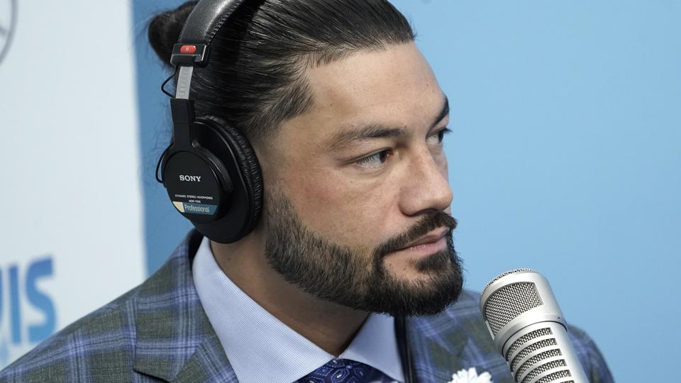 WWE Star Roman Reigns Visits ″The Elvis Duran Z100 Morning Show″