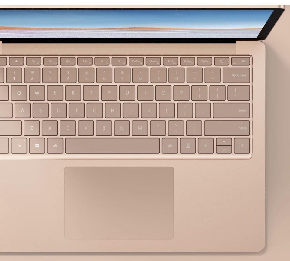 Microsoft Surface Laptop.