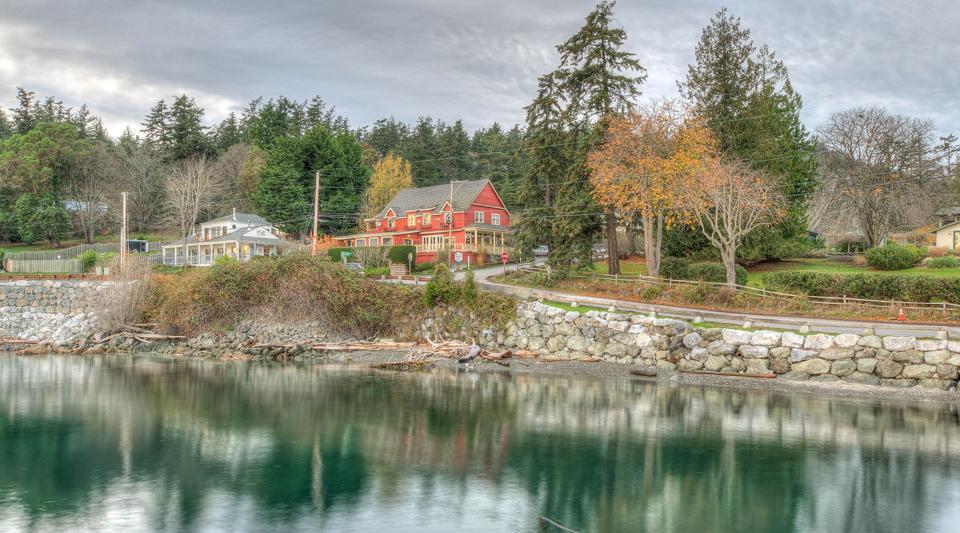 Kingfish Inn on Orcas Island in Washington state