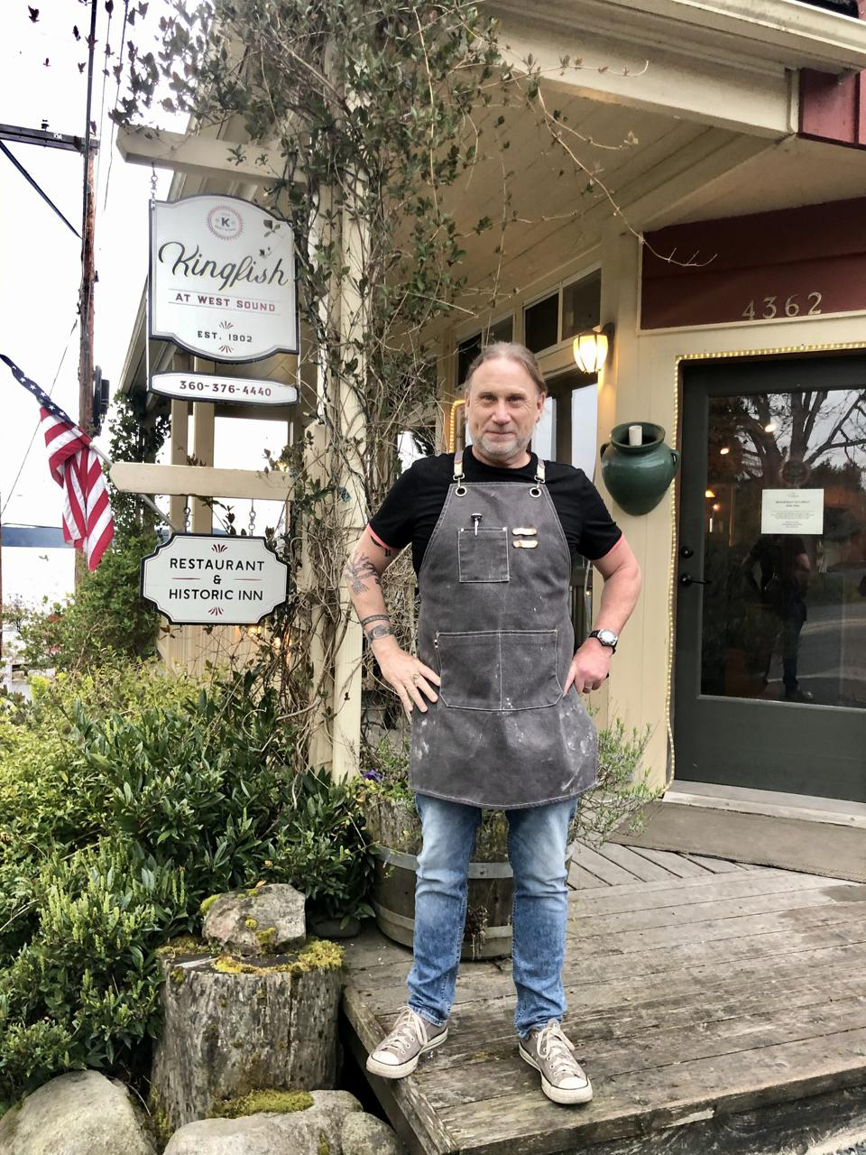 Raymond Southern is a Canadian chef working on Orcas Island in Washington State.